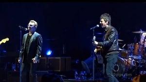 Noel on stage with U2 last night in London