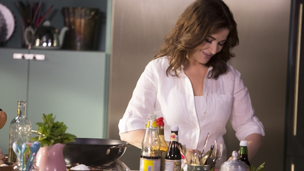 Nigella Lawson: waiting for eggy cream to ooze out on the spoon