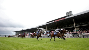 Treasuring impressed at the Curragh