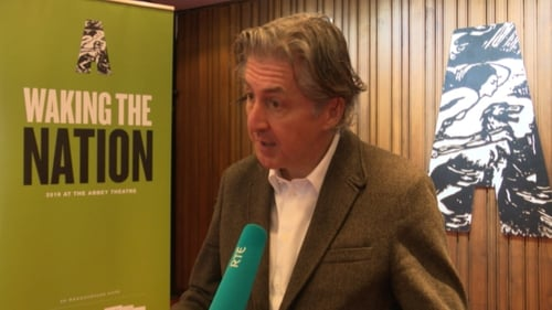 Abbey Director Fiach MacConghail said the title 'Waking the Nation' was deliberately provocative