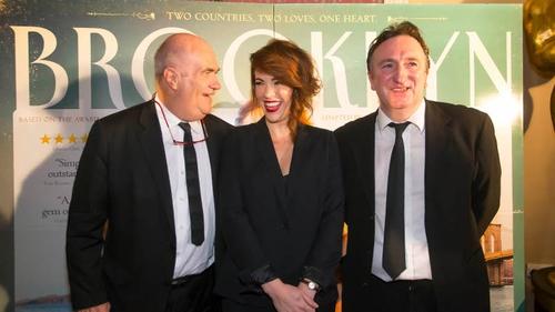 Colm Tóibín and cast members Eve Macklin andGary Lydon