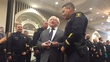 President Higgins pays tribute to Berkeley response