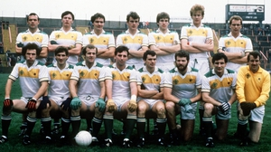 The 1984 Ireland team that played Australia in the first Test at Páirc Uí Chaoimh
