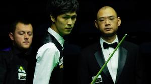 Thailand's Thepchaiya Un-Nooh won a thriller against Mark Allen (pic: World Snooker)