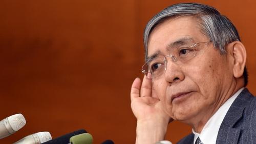Bank of Japan's Governor Haruhiko Kuroda