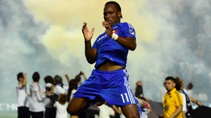 The former Chelsea striker scored his 12th goal in 12 games for the Canadians