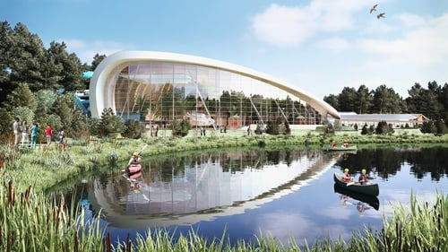 Center Parcs submitted its planning application last autumn to develop the holiday village at Newcastle Wood, outside Ballymahon