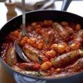 Nevens Recepies - Sausage & Bean Casserole