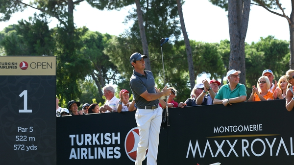 Rory McIlroy fired a third consecutive 67