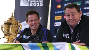Steve Hansen called Richie McCaw the 'greatest All Black'