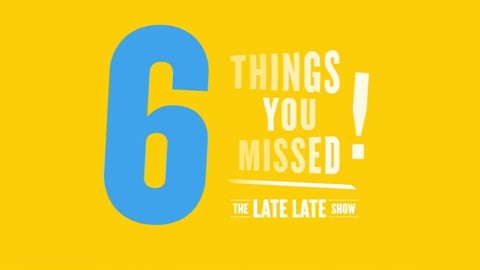 The Late Late Show Extras: 6 Things You Missed