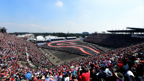Almost 140,000 were at the Autodromo Hermanos Rodrigue