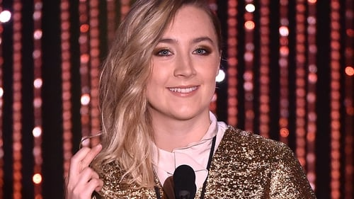 Saoirse Ronan's turn in Brooklyn was honoured at Sunday night's awards ceremony