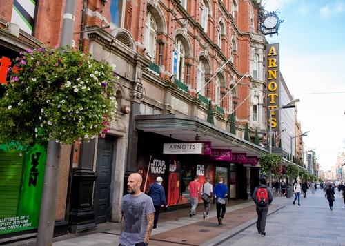 The Arnotts brand will be added to an international portfolio of high-end department stores that includes Brown Thomas