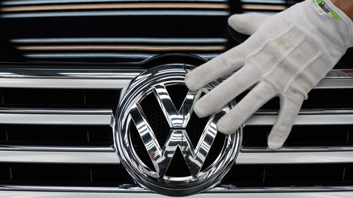 Volkswagen said yesterday it was in advanced talks over a $4.3 billion settlement