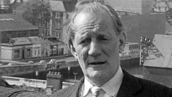 Actor Trevor Howard at the Cork Film Festival