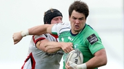 Quinn Roux is among a host of second rows ruled out of the Connacht squad