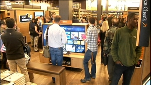 Amazon opened its first physical bookshop in its home town of Seattle today