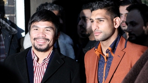 A fight between Manny Pacquiao and Amir Khan appears to be moving closer