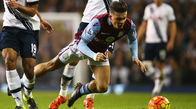 Jack Grealish forced to train with Villa Under-21s