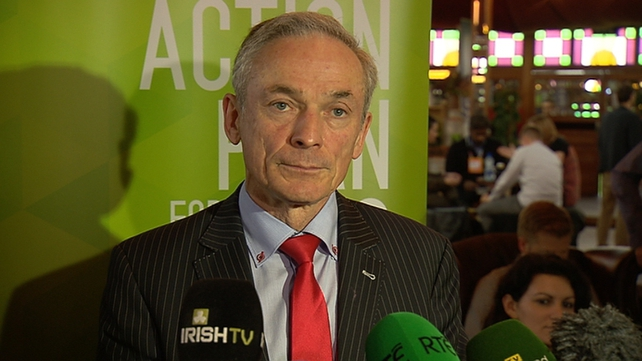 Richard Bruton said the spending increase has been very prudently within what is affordable by the economy
