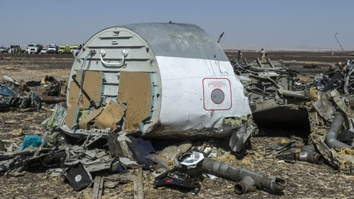 The Airbus A321 crashed in the Sinai Peninsula killing all on board