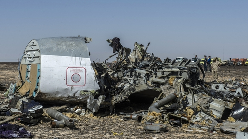 The UK and the US say there is a possibility a plane crash in Egypt last Saturday was caused by an explosive device