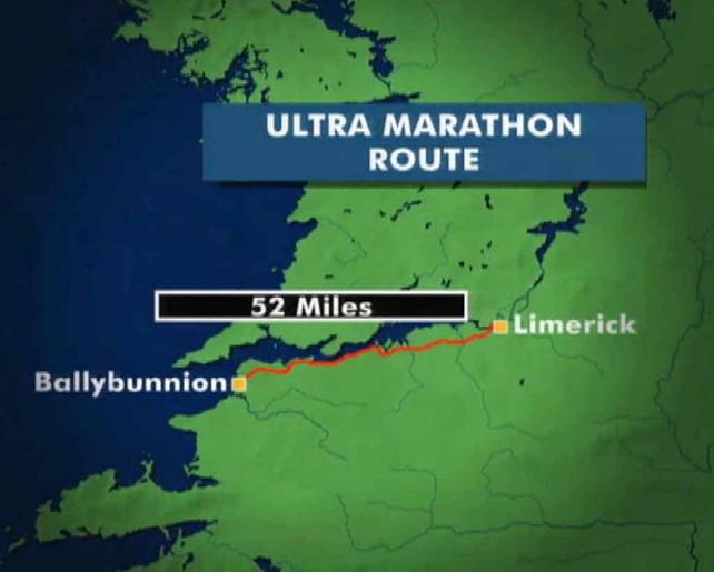 Ultra Marathon route
