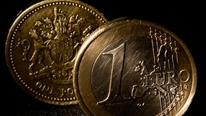 Shortly before 8am the pound was trading at 84.25 pence per euro, its strongest since 21 December