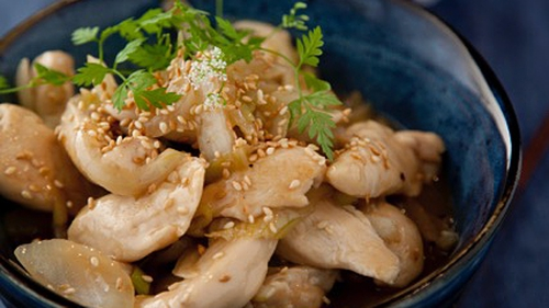 Chinese Style Lemon Chicken: Kevin Dundon