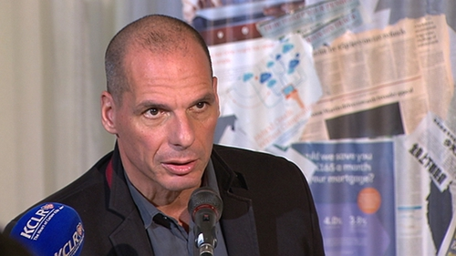 Former Greek Finance Minister Yanis Varoufakis said Ireland had not suffered the same level of austerity as Greecehad
