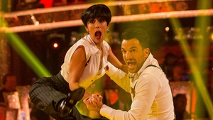 Peter Andre lit up the dance floor on Strictly