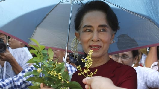 Myanmar awaits results of a landmark election