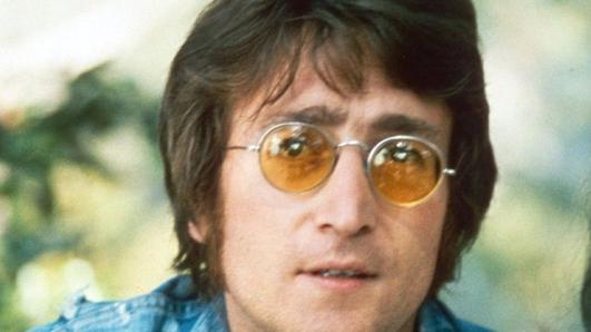 Yoko Ono and John Lennon in 1969