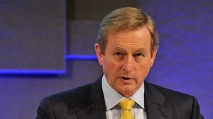 Enda Kenny's Fine Gael is up one point and now stands at 32%