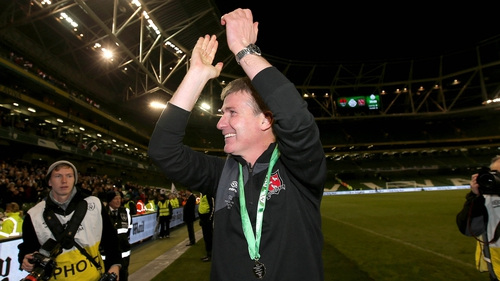 Stephen Kenny takes the plaudits after Dundalk's tenth FAI Cup success