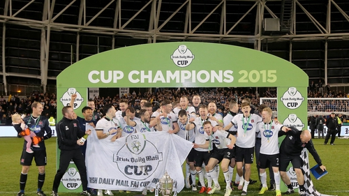 Dundalk defeated Cork in last season's Cup final