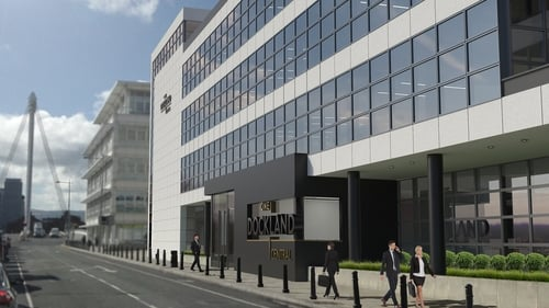 Software company HubSpot will pay a rent of €1.3m a year for offices in One Dockland Central