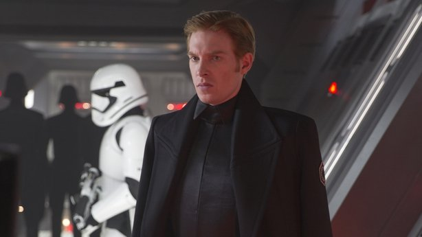 Our man in a galaxy far far away- Domhnall Gleeson is back as General Hux