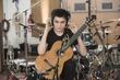 Classical guitarist Liam McManus