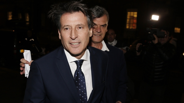 Sebastian Coe said his comments about Lamine Diack were made with no knowledge of the allegations against him