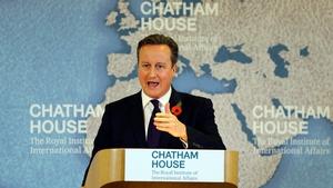 David Cameron said he faces a 'big task'