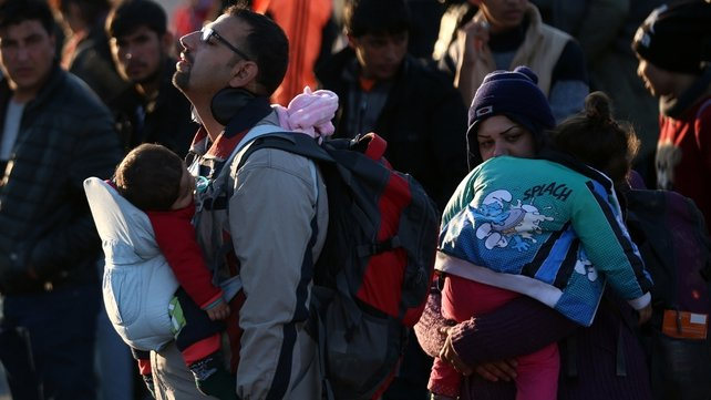 It is understood the Syrian family will have originally arrived in the Greek island of Lesbos from Turkey