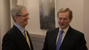 Tim Cook requested a phone conversation with Enda Kenny