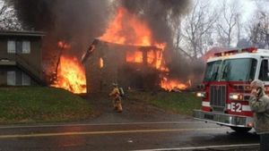 The plane was on approach to the airport in the Ohio city when it crashed