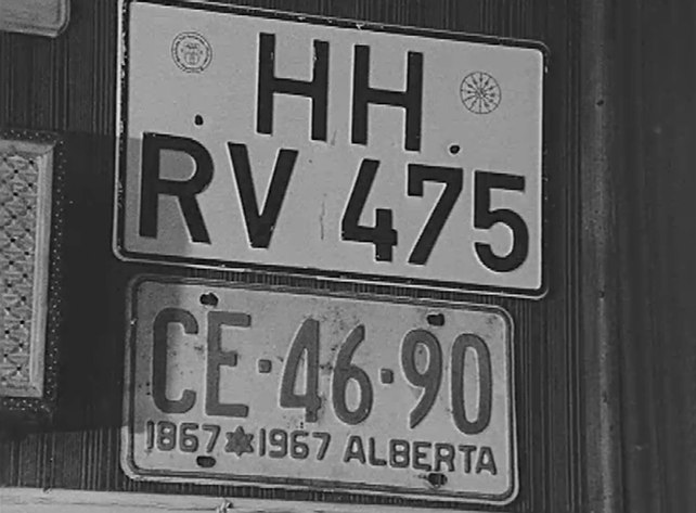 Number Plates (1970)