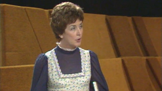Nuala Fennell on Late Late Show (1975)