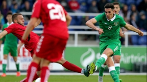 Ireland goal-scorer Conor Wilkinson