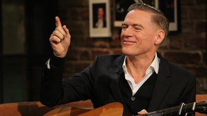 Adams on The Late Late Show in 2015