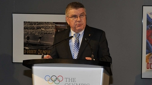 IOC president Thomas Bach